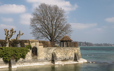 Konstanz, Germany: Rhine river estuary