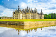 Chateau de Chambord, Unesco french castle. Loire Valley, France