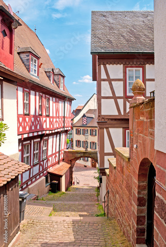 Enge Gasse in Miltenberg am Main