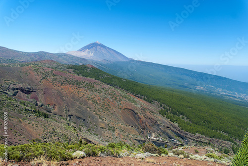 Peak of volcan Teide. Tenerife. Spain