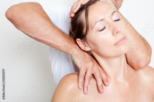 Nacken einrenken