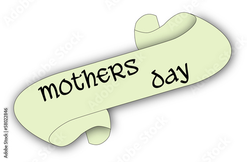 Mothers Day Scroll