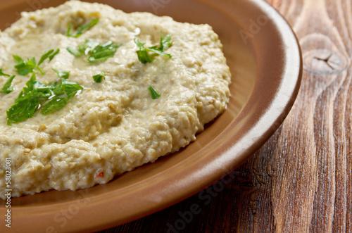 homemade  Baba Ghanoush