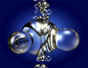 h2o - Molekül - Bubbles