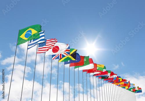 Poster 万国旗