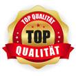 Gold rot Top Qualität siegel