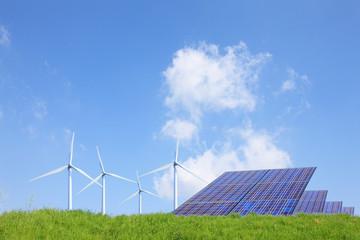 草原と再生可能エネルギー