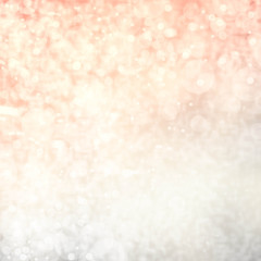 Light silver abstract background with twinkled magic holiday lig