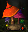 Wonderland series - Wonderland mushrooms