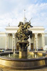 Moscow, monument to Saint George