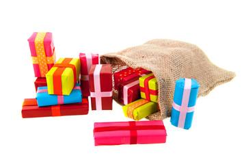 Jute bags presents