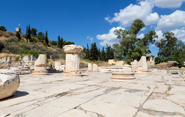Greater Propylaia, ancient Eleusis, Attica, Greece