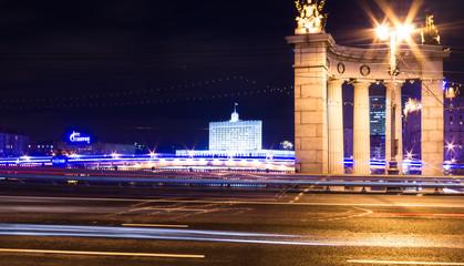 moscow bridge smolenskaya street, kievskaya