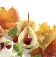 Caramelized pear