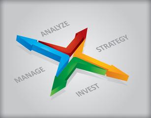 Business template - innovative idea