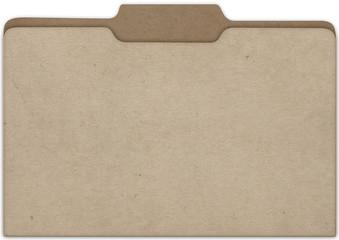 File Cardboard Front