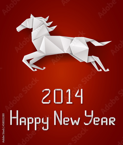 New Year's horse