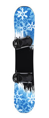 Snowboard isolated II. Clipping path