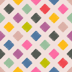 Scribbled squares color pattern