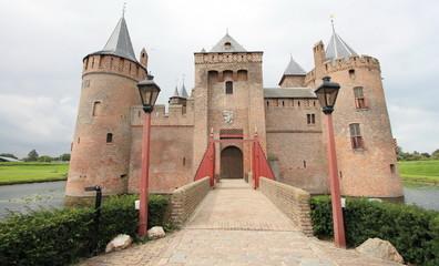 Muiderslot, a fairy tale castle in the Netherlands