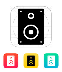 Audio speakers icon.