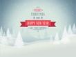 Merry christmas landscape - 58036878