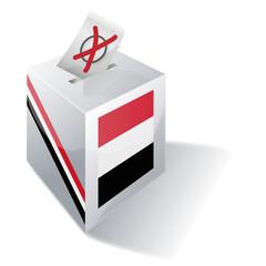 Wahlbox Jemen