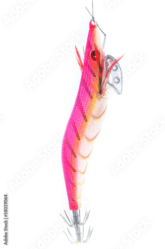 Fishing Bait Isolated on White Background