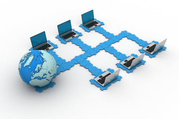 Global computer networking
