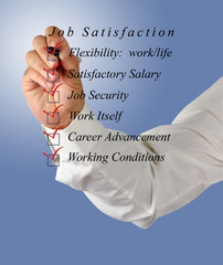 Job satisfaction list