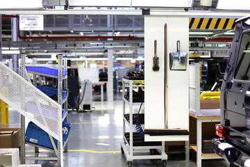 Halle im Fabrikgebäude