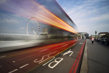 London Bus lane