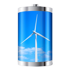 Wind Turbine Battery
