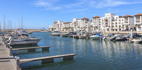 Marina in Agadir, Morocco