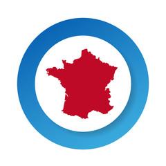 Flat design France