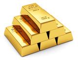 Fototapety Gold ingots