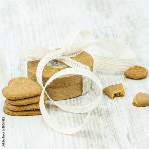 Gingerbread Cookies and Gift