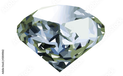 realistic diamond