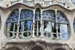canvas print picture - Gaudi's Casa Batlló