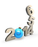 Happy new year 2014. Change concept