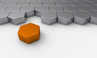 Der orange Baustein aus der Reihe