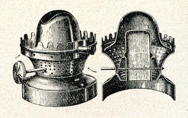 Flat wick kerosene lamp burner
