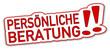 Persönliche Beratung Sticker  #131106-svg01