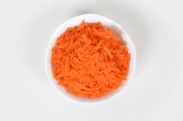 Sliced ​​carrots
