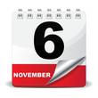 6 NOVEMBER ICON - 58045868