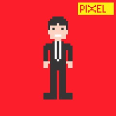 pixel guy art