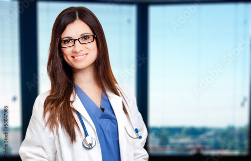 Female doctor in her studio