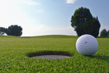 Fototapety golf hole and ball