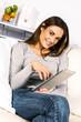 electronic pad woman