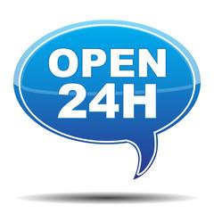 OPEN 24H ICON